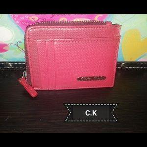 CK keychain purse